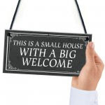 Shabby Chic Style WELCOME SIGN New Home Gift Home Decor