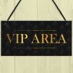 Vintage Style VIP AREA Sign For Bar Pub Club Man Cave Home Bar