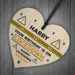 Personalised Funny Birthday Gift Lockdown Gift For Dad Mum Son