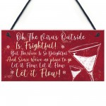 Funny Bar Sign Lockdown Gift Kitchen Home Bar Sign Wine Gift