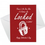 Funny Rude Valentines Day Card For Him Her Lockdown Card