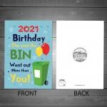 Funny Birthday Card For Men & Women Lockdown Design Novelty
