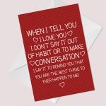 Special Card For Anniversary Birthday Husband Wife Boyfriend