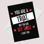 Funny Rude Card For Birthday Anniversary Novelty Card For Him