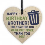 Funny Lockdown Birthday Gift For Brother Heart From Sister
