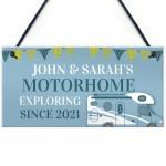 Personalised Motorhome Sign Novelty Caravan Campervan Decor