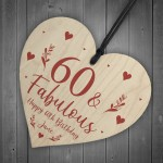 60th Birthday Gift For Mum Sister Auntie Personalised 60