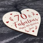 70th Birthday Gift For Mum Sister Auntie Personalised 70