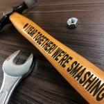 1 Year Anniversary Engraved Hammer Gift For Boyfriend Husband