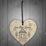 Personalised House Warming Gift Our New Home Gift With Name