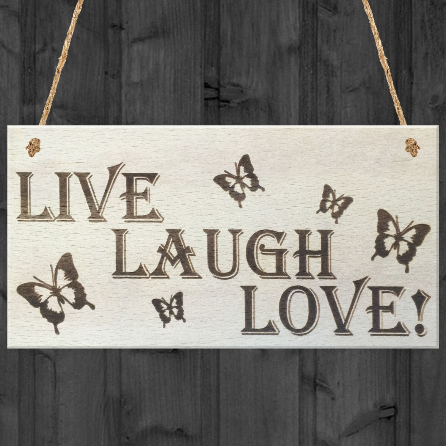 Live Laugh Love Wooden Hanging Plaque Gift Friendship Sign,What A Beautiful Name Chords Pdf E